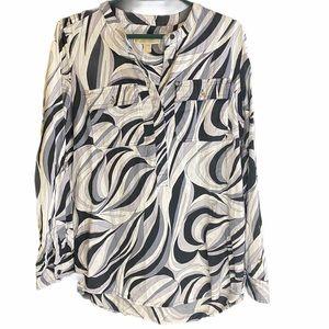 Michael Kors abstract tunic